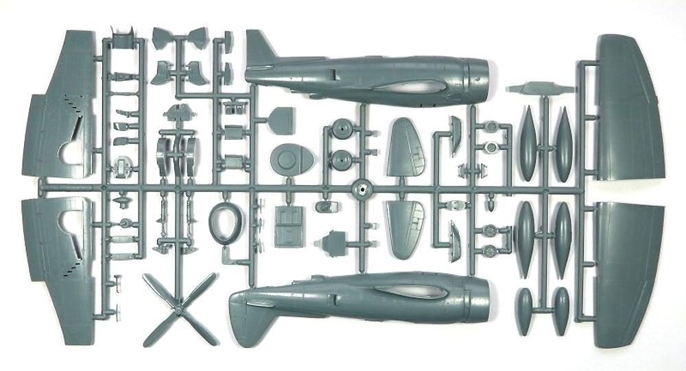 P-47N サンダーボルト 2in1プラモデル(ソード1/72 エアクラフト プラモデルNo.72121)商品画像_1