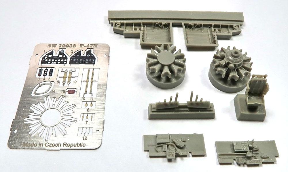 P-47N サンダーボルト 2in1プラモデル(ソード1/72 エアクラフト プラモデルNo.72121)商品画像_2