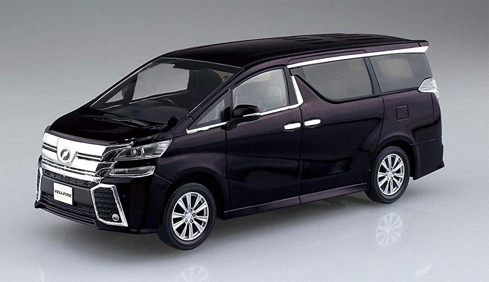 トヨタ ヴェルファイア バーニングブラッククリスタルシャインガラスフレークプラモデル(アオシマザ・スナップキット 楽プラNo.004-C)商品画像_2