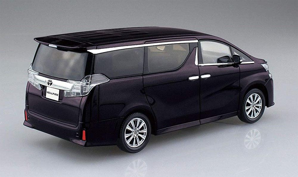 トヨタ ヴェルファイア バーニングブラッククリスタルシャインガラスフレークプラモデル(アオシマザ・スナップキット 楽プラNo.004-C)商品画像_3