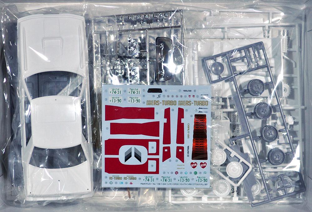 ニッサン DR30 スカイラインRS エアロカスタム '83プラモデル(アオシマ1/24 ザ・モデルカーNo.108)商品画像_1