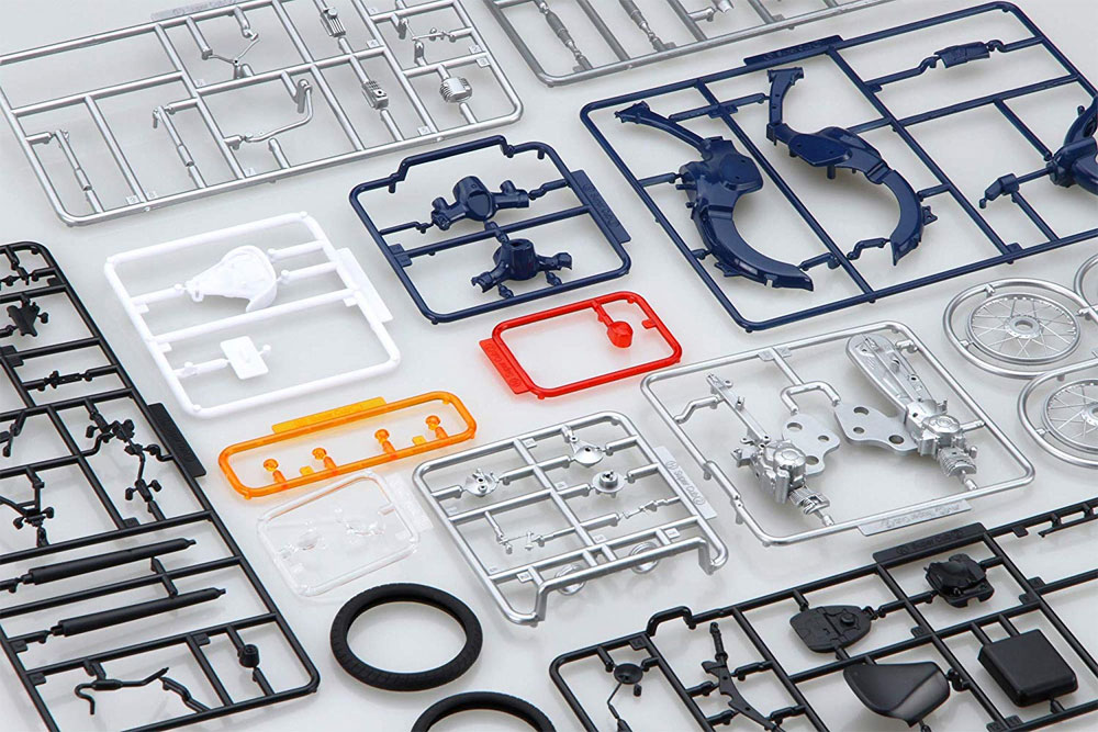 ホンダ スーパーカブ 110 アーベインデニムブルーメタリックプラモデル(フジミ1/12 NEXTシリーズNo.001)商品画像_1