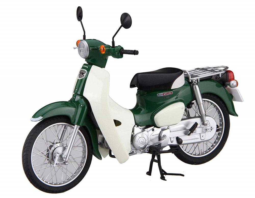 ホンダ スーパーカブ 110 タスマニアグリーンメタリックプラモデル(フジミ1/12 NEXTシリーズNo.002)商品画像_3