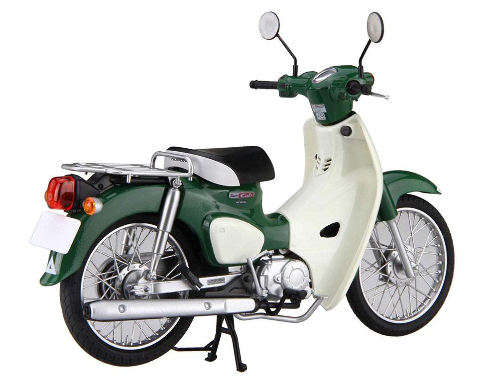 ホンダ スーパーカブ 110 タスマニアグリーンメタリックプラモデル(フジミ1/12 NEXTシリーズNo.002)商品画像_4