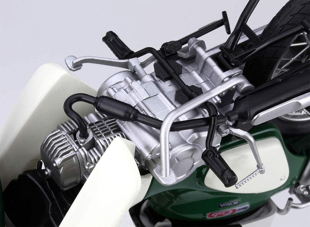 ホンダ スーパーカブ 110 バージンベージュプラモデル(フジミ1/12 NEXTシリーズNo.001EX-001)商品画像_4