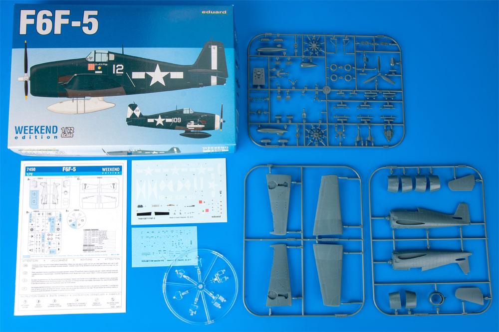 F6F-5 ヘルキャットプラモデル(エデュアルド1/72 ウィークエンド エディションNo.7450)商品画像_1