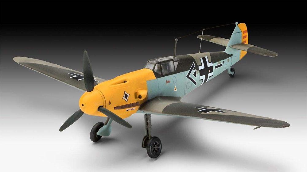 メッサーシュミット Bf109F-2プラモデル(レベル1/72 飛行機No.03893)商品画像_1