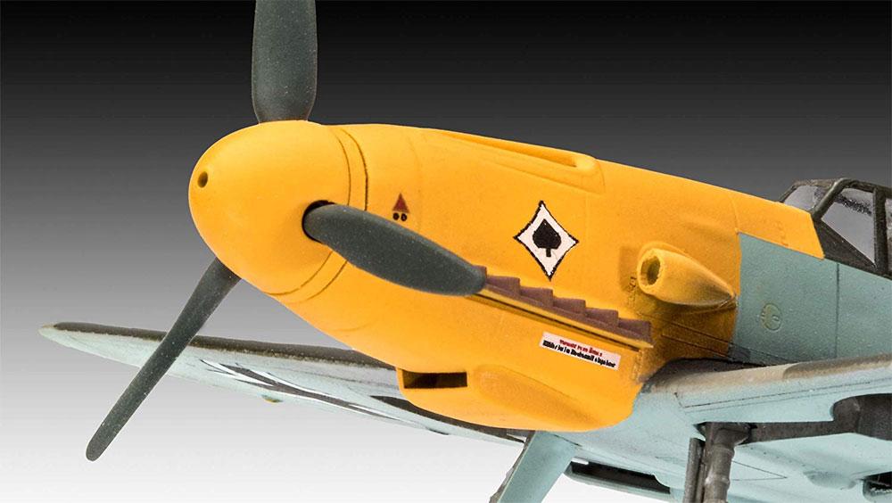 メッサーシュミット Bf109F-2プラモデル(レベル1/72 飛行機No.03893)商品画像_2