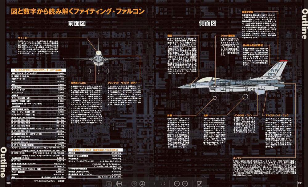 F-16 ファイティングファルコン 最新版ムック(イカロス出版世界の名機シリーズNo.61855-37)商品画像_2