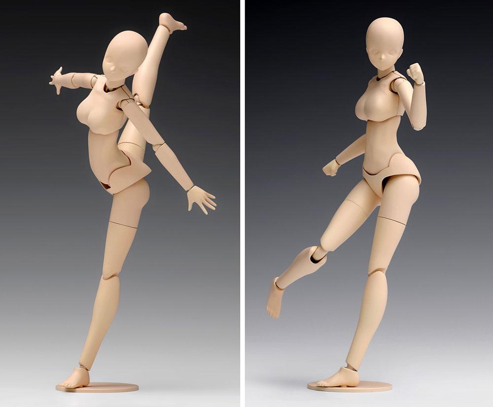 ムーバブルボディ 女性型 スタンダードプラモデル(ウェーブオプションシステム (プラユニット)No.SR-021)商品画像_3