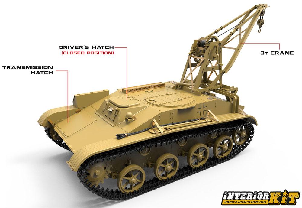 T-60r 戦車回収車 フルインテリアプラモデル(ミニアート1/35 WW2 ミリタリーミニチュアNo.35238)商品画像_1