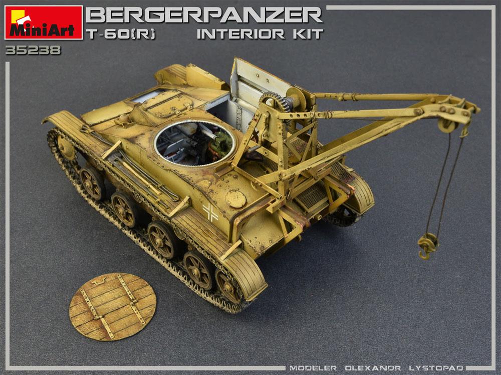 T-60r 戦車回収車 フルインテリアプラモデル(ミニアート1/35 WW2 ミリタリーミニチュアNo.35238)商品画像_4