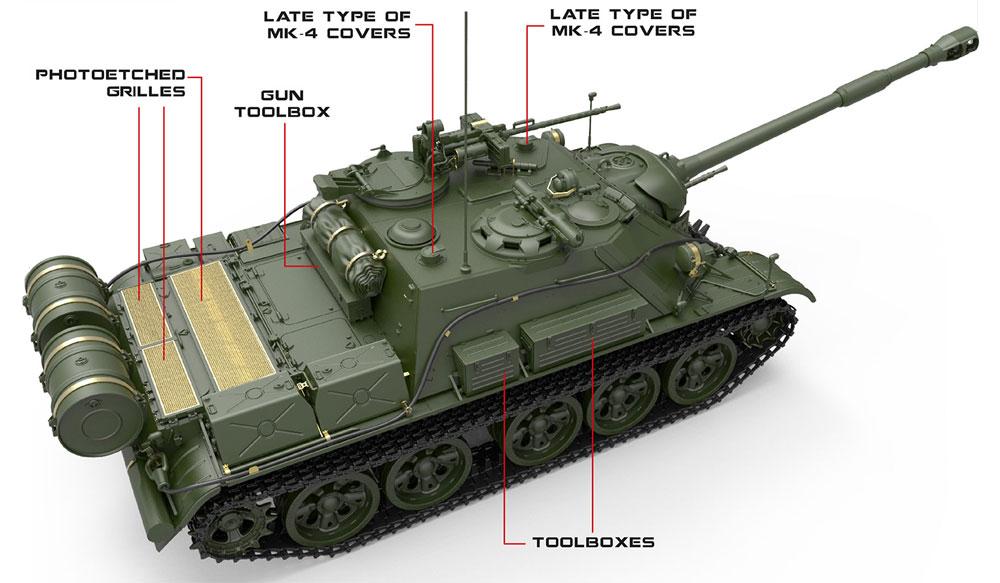 SU-122-54 後期型プラモデル(ミニアート1/35 ミリタリーミニチュアNo.37042)商品画像_3