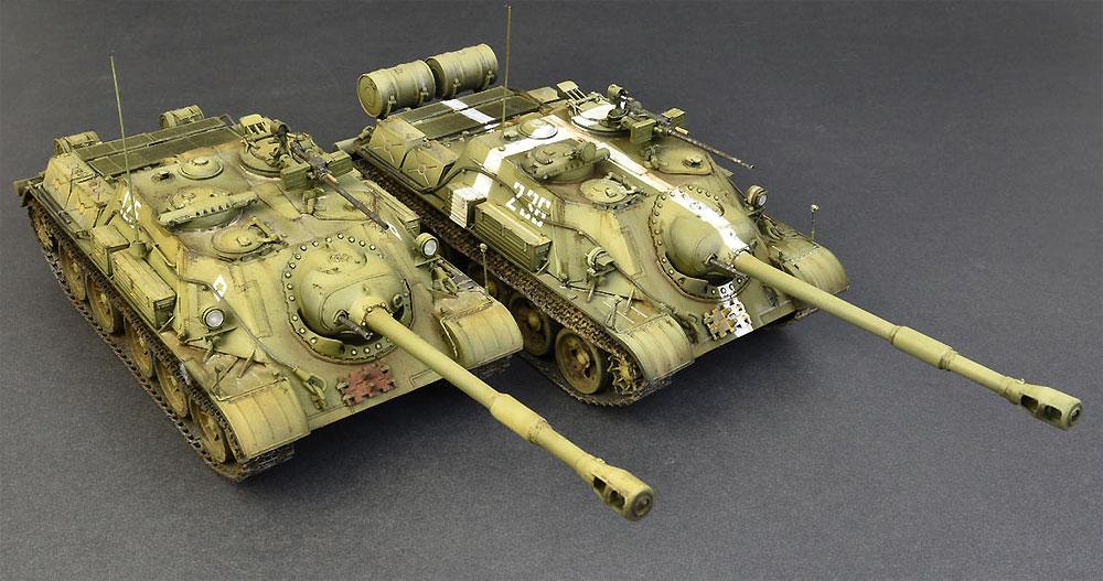 SU-122-54 後期型プラモデル(ミニアート1/35 ミリタリーミニチュアNo.37042)商品画像_4