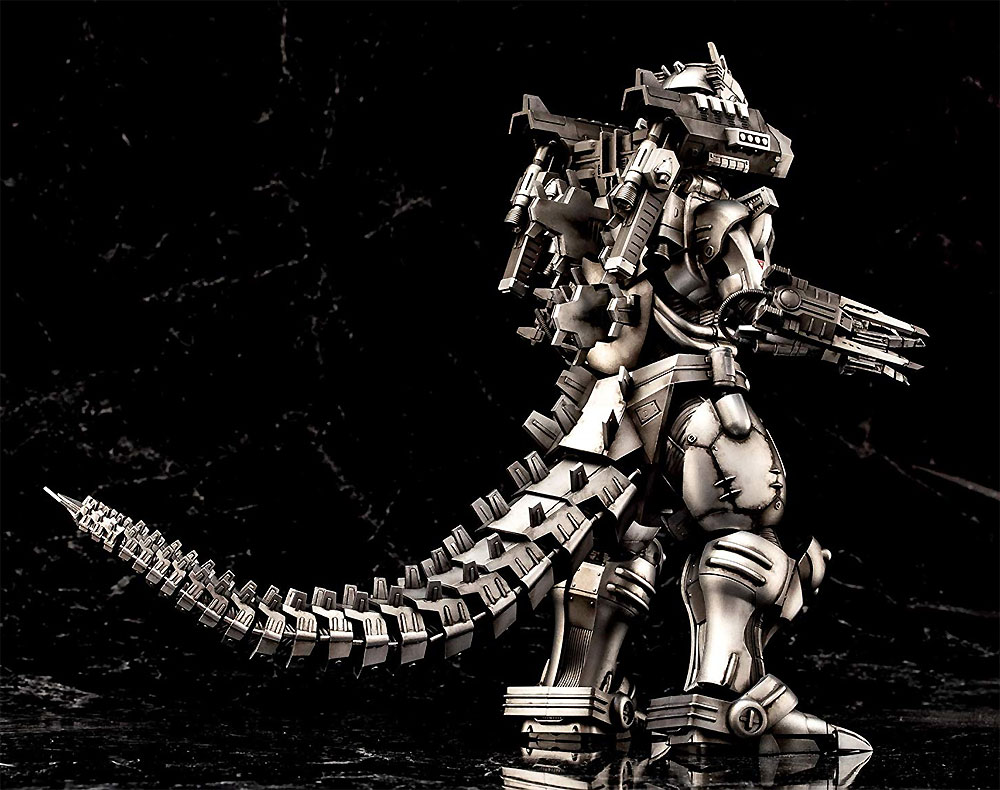 MFS-3 3式機龍 改 ゴジラ X モスラ X メカゴジラ 東京SOSプラモデル(アオシマACKS (アオシマ キャラクターキット セレクション)No.GO-002)商品画像_4