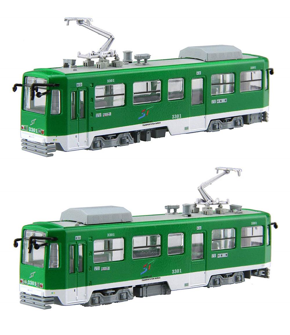 雪ミク電車 2019Ver. 標準色用 3300形付き 2両セットプラモデル(フジミ雪ミク電車No.910284)商品画像_4