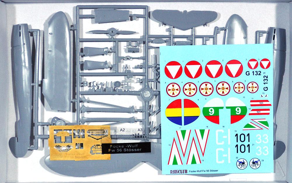 フォッケウルフ Fw56 シュテッサー 海外仕様プラモデル(プラスチック プラネット1/48 プラスチックモデルNo.PPC48004)商品画像_1