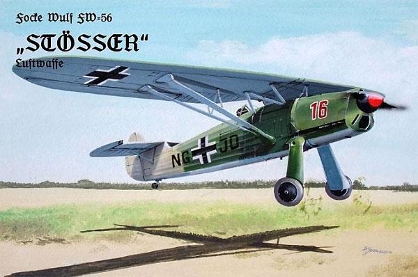 フォッケウルフ Fw56 シュテッサー ドイツ空軍プラモデル(プラスチック プラネット1/48 プラスチックモデルNo.PPC48005)商品画像