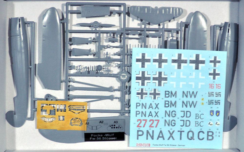フォッケウルフ Fw56 シュテッサー ドイツ空軍プラモデル(プラスチック プラネット1/48 プラスチックモデルNo.PPC48005)商品画像_1