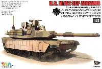 ティーモデル1/72 ミリタリー プラモデルアメリカ M1A2 エイブラムス戦車 SEP TUSK 1 w/M151 CROWS 2 アイアンオークリーフセット