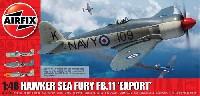 エアフィックス1/48 ミリタリーエアクラフトホーカー シーフューリー FB.11 輸出型