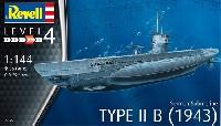 ドイツ 潜水艦 Type2B 1943