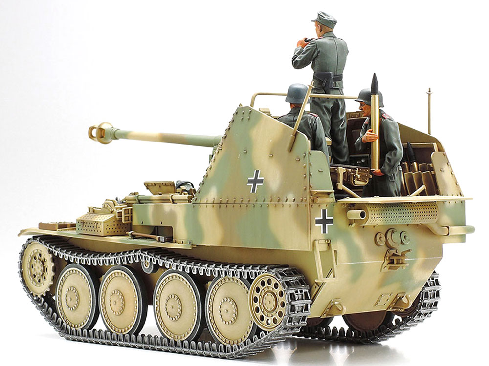 ドイツ 対戦車自走砲 マーダー 3M (ノルマンディ戦線)プラモデル(タミヤ1/35 ミリタリーミニチュアシリーズNo.364)商品画像_2