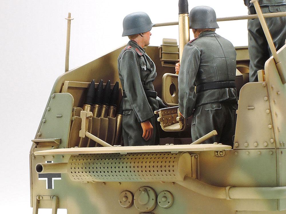 ドイツ 対戦車自走砲 マーダー 3M (ノルマンディ戦線)プラモデル(タミヤ1/35 ミリタリーミニチュアシリーズNo.364)商品画像_4