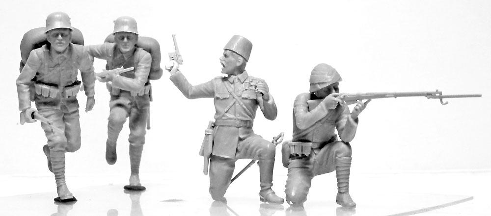 WW1 ガリポリの戦い (1915)プラモデル(ICM1/35 ミリタリービークル・フィギュアNo.DS3501)商品画像_2