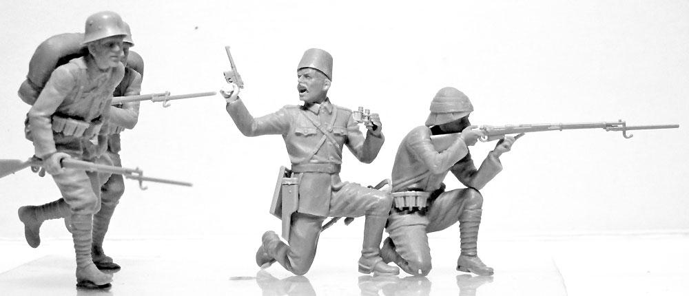 WW1 ガリポリの戦い (1915)プラモデル(ICM1/35 ミリタリービークル・フィギュアNo.DS3501)商品画像_3