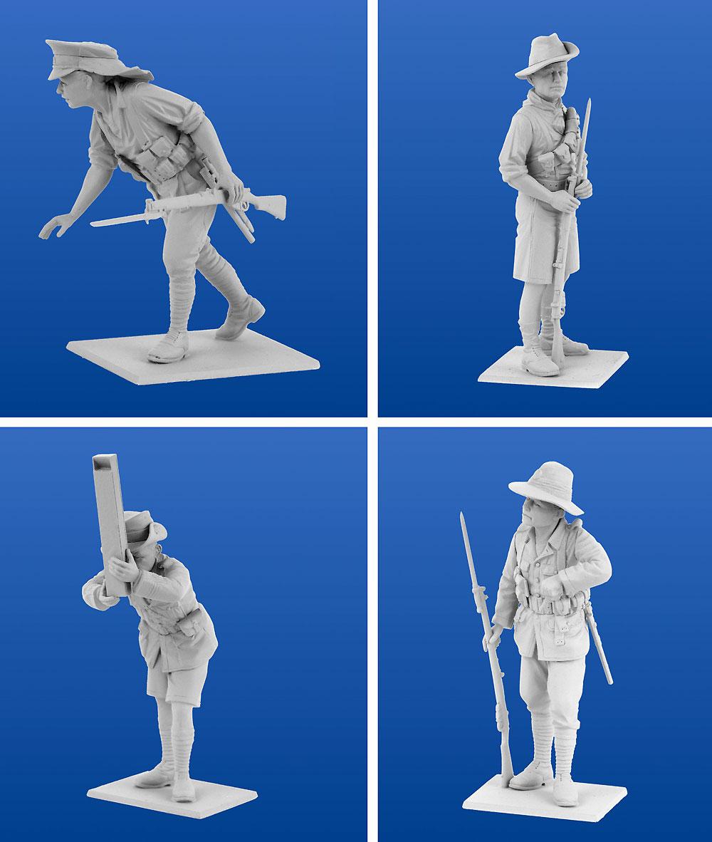 WW1 ガリポリの戦い (1915)プラモデル(ICM1/35 ミリタリービークル・フィギュアNo.DS3501)商品画像_4