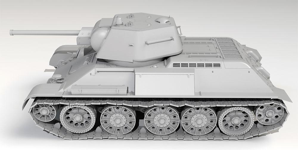 ドイツ Pz.Kpfw. T-34-747rプラモデル(ICM1/35 ミリタリービークル・フィギュアNo.35370)商品画像_3