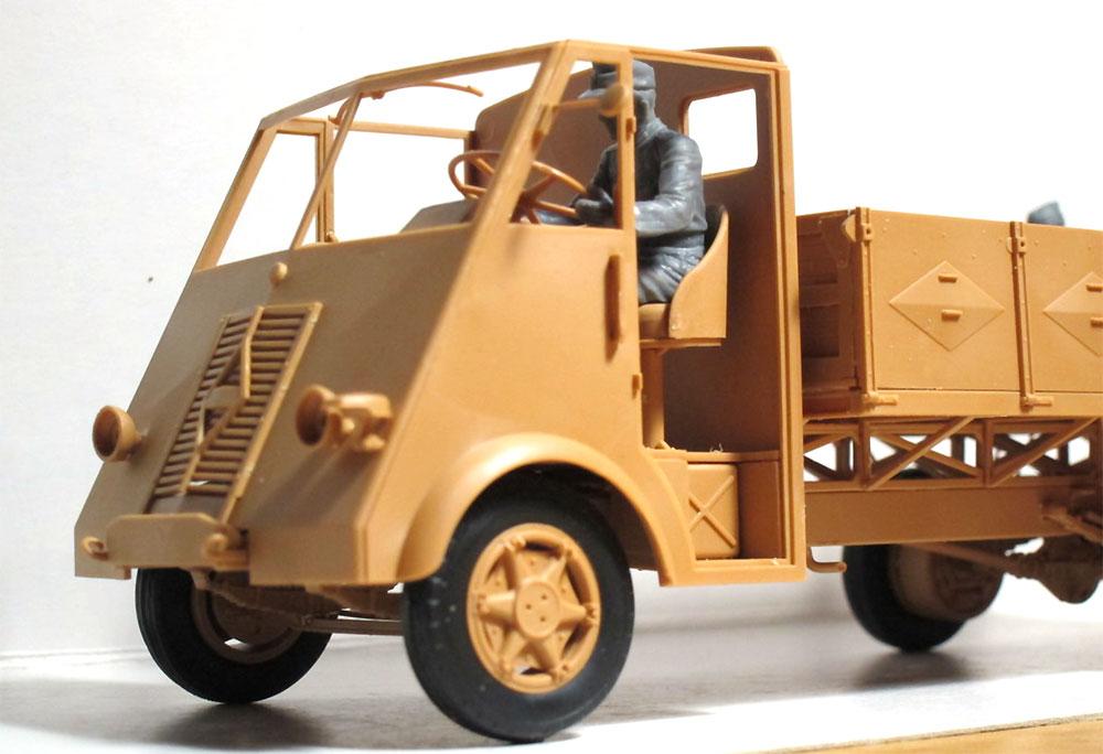ルノー AHN 3.5t ドイツ アーミートラック w/ドライバープラモデル(ICM1/35 ミリタリービークル・フィギュアNo.35418)商品画像_1
