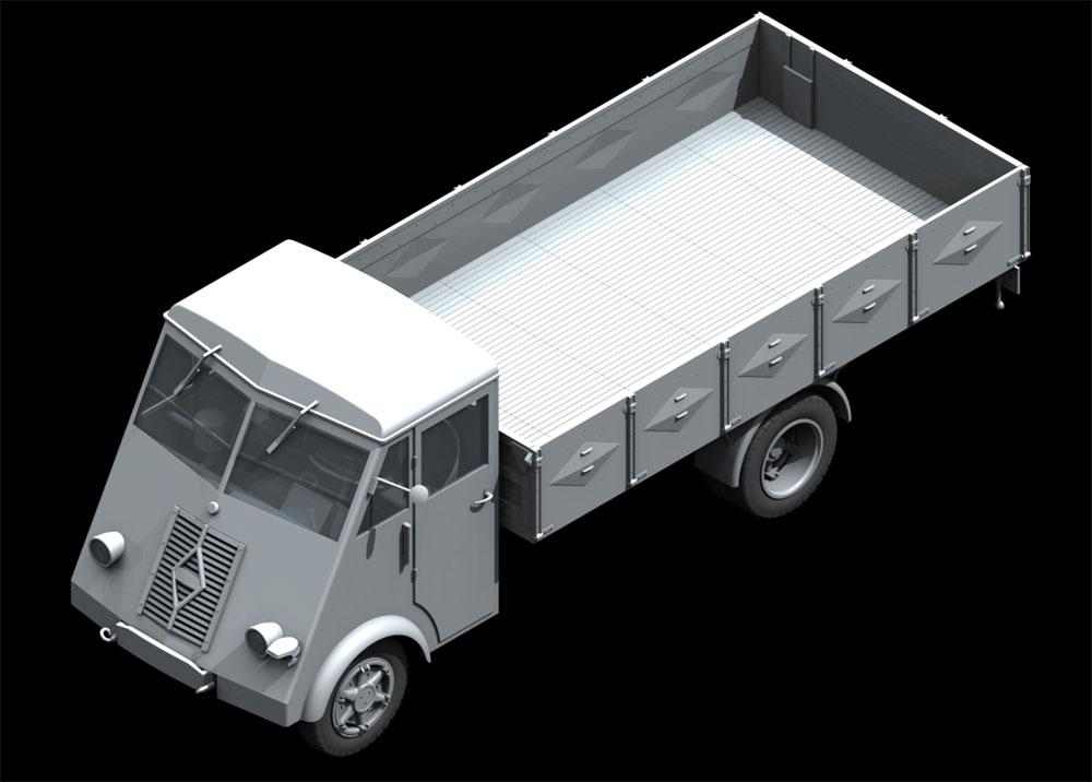 ルノー AHN 3.5t ドイツ アーミートラック w/ドライバープラモデル(ICM1/35 ミリタリービークル・フィギュアNo.35418)商品画像_2