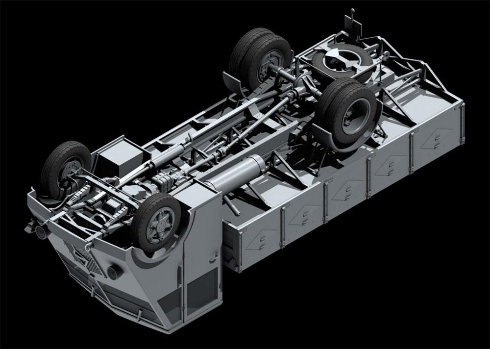 ルノー AHN 3.5t ドイツ アーミートラック w/ドライバープラモデル(ICM1/35 ミリタリービークル・フィギュアNo.35418)商品画像_4