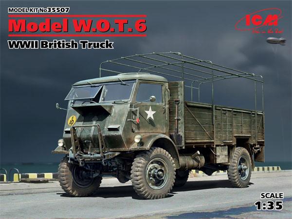 イギリス フォード W.O.T. 6 トラックプラモデル(ICM1/35 ミリタリービークル・フィギュアNo.35507)商品画像