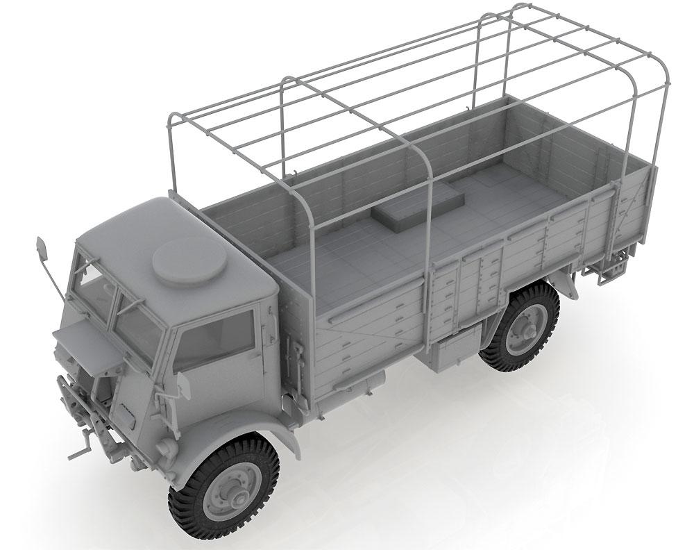 イギリス フォード W.O.T. 6 トラックプラモデル(ICM1/35 ミリタリービークル・フィギュアNo.35507)商品画像_1