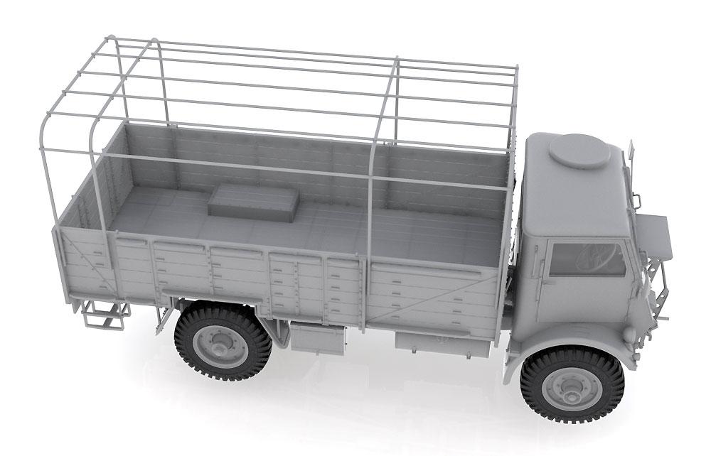 イギリス フォード W.O.T. 6 トラックプラモデル(ICM1/35 ミリタリービークル・フィギュアNo.35507)商品画像_2