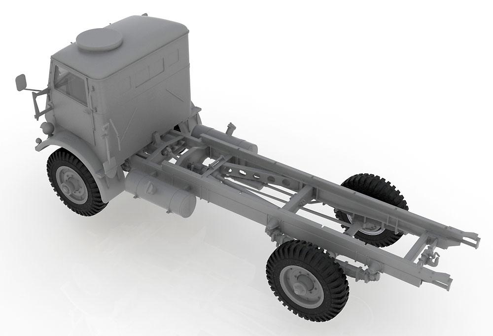 イギリス フォード W.O.T. 6 トラックプラモデル(ICM1/35 ミリタリービークル・フィギュアNo.35507)商品画像_3