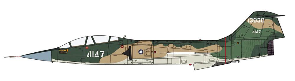 F-104 スターファイター G/DJ型 (複座型) 台湾空軍/航空自衛隊プラモデル(ハセガワ1/48 飛行機 限定生産No.07473)商品画像_2