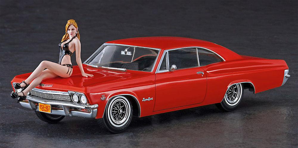 1966 アメリカン クーペ タイプ 1 w/ブロンドガールズフィギュアプラモデル(ハセガワ1/24 自動車 限定生産No.SP402)商品画像_2