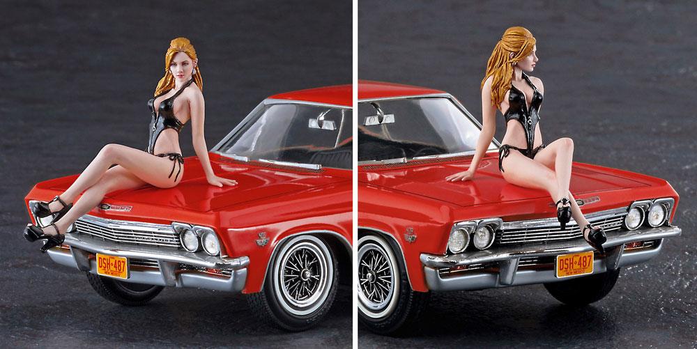 1966 アメリカン クーペ タイプ 1 w/ブロンドガールズフィギュアプラモデル(ハセガワ1/24 自動車 限定生産No.SP402)商品画像_3