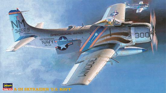 A-1H スカイレーダー U.S.ネイビープラモデル(ハセガワ1/72 飛行機 BPシリーズNo.BP006)商品画像