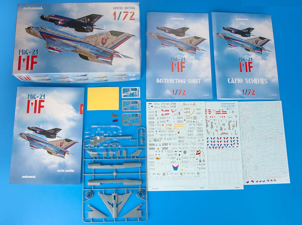 MiG-21MF デュアルコンボプラモデル(エデュアルド1/72 リミテッド エディションNo.2127)商品画像_1