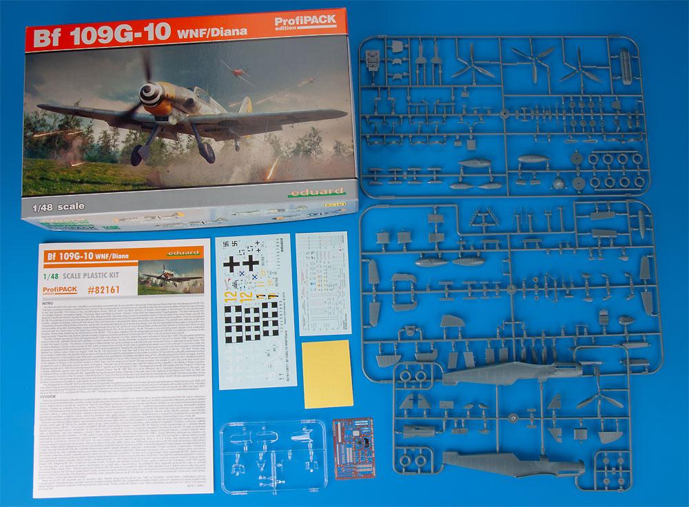 メッサーシュミット Bf109G-10 WNF/ダイアナプラモデル(エデュアルド1/48 プロフィパックNo.82161)商品画像_1