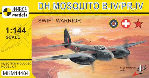 デ ハビランド モスキート B Mk.4/PR.4 スイフト ウォリアープラモデル(MARK 1MARK 1 modelsNo.MKM14484)商品画像