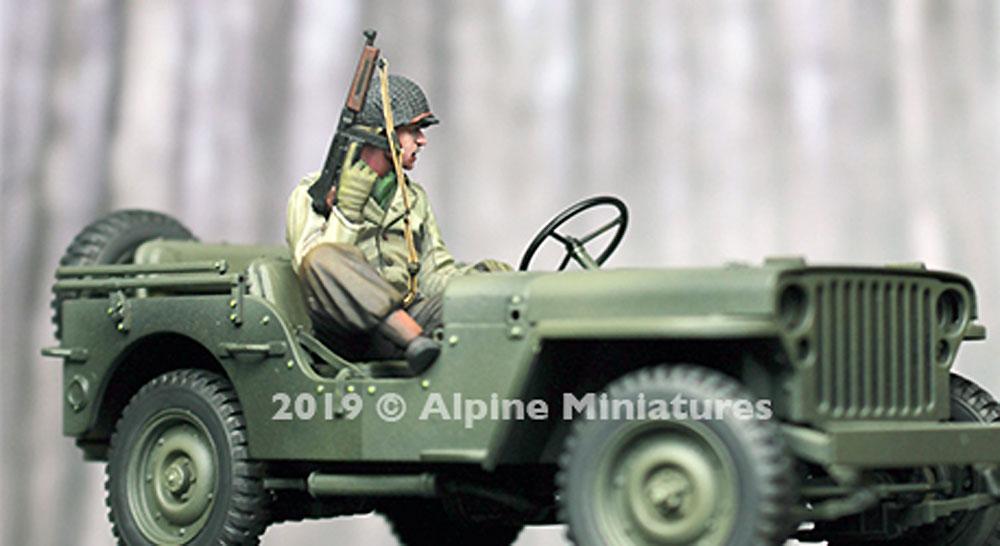 WW2 アメリカ陸軍 斥候へ向かう搭乗兵レジン(アルパイン1/35 フィギュアNo.AM35260)商品画像_3