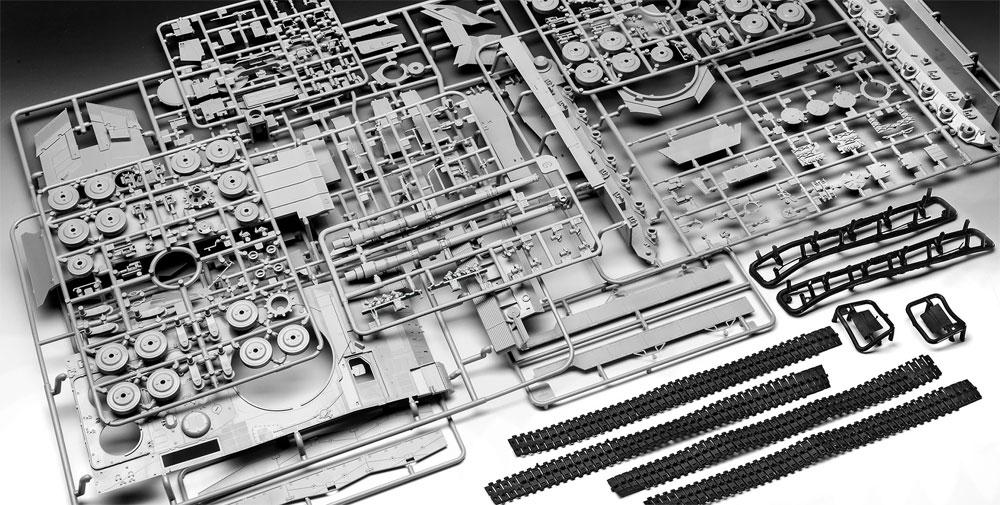 レオパルト 2A6/A6NLプラモデル(レベル1/35 ミリタリーNo.03281)商品画像_1