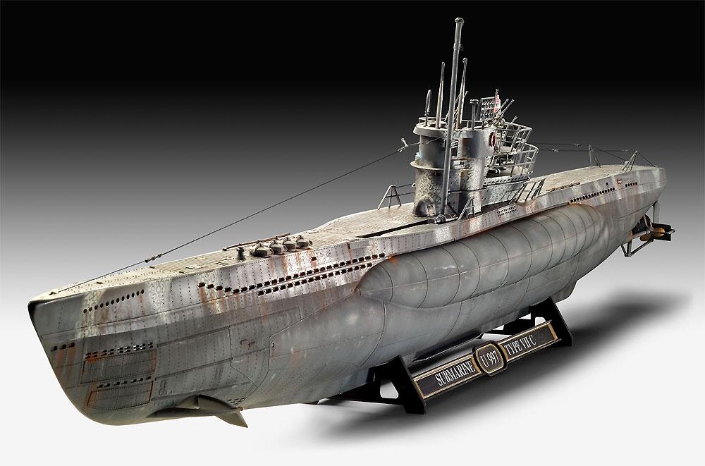 ドイツ潜水艦 Type7C/41 プレミアムエディションプラモデル(レベル1/72 艦船モデルNo.05163)商品画像_1