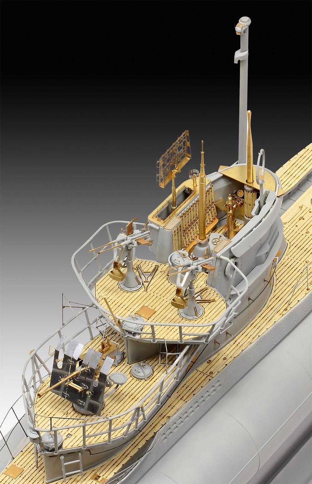ドイツ潜水艦 Type7C/41 プレミアムエディションプラモデル(レベル1/72 艦船モデルNo.05163)商品画像_3